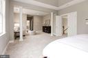 Master Bedroom w/Double Doors - 12184 HICKORY KNOLL PL, FAIRFAX