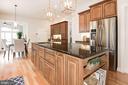 Kitchen w/Large Island - 12184 HICKORY KNOLL PL, FAIRFAX
