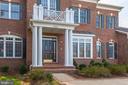 Grand Brick Entrance - 12184 HICKORY KNOLL PL, FAIRFAX