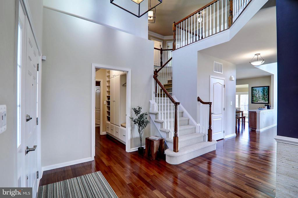 Solid Brazilian Hardwood Floors (Lyptus) - 22960 CARTERS STATION CT, ASHBURN