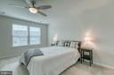 Master Bedroom - 211 LANDING DR, FREDERICKSBURG