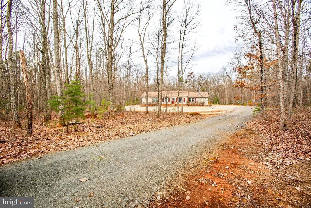 Driveway view of Property - 11601 ORANGE PLANK RD, SPOTSYLVANIA