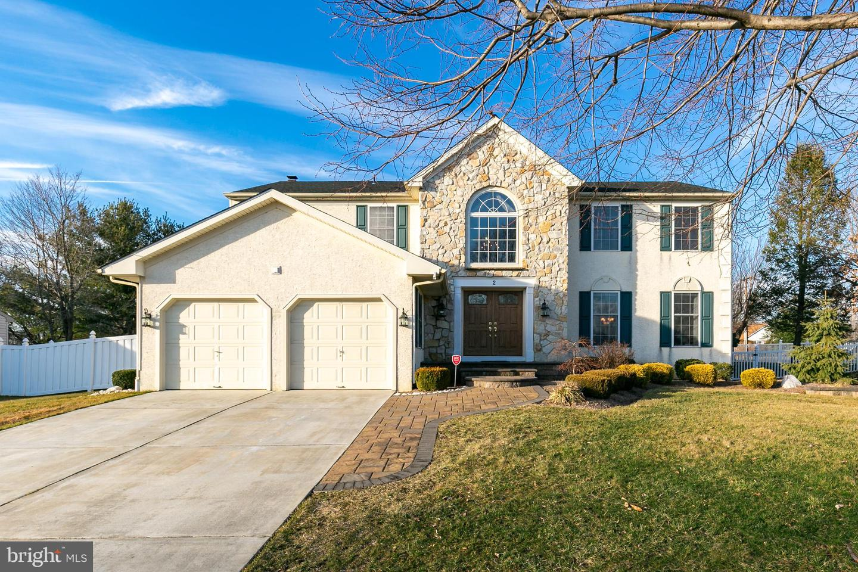 Single Family Homes för Försäljning vid Lumberton, New Jersey 08048 Förenta staterna