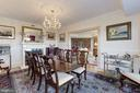 Dining room with access - 5600 WISCONSIN AVE #1308, CHEVY CHASE