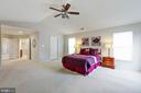 MASTER BEDROOM - 2728 JOHN MILLS RD, ADAMSTOWN