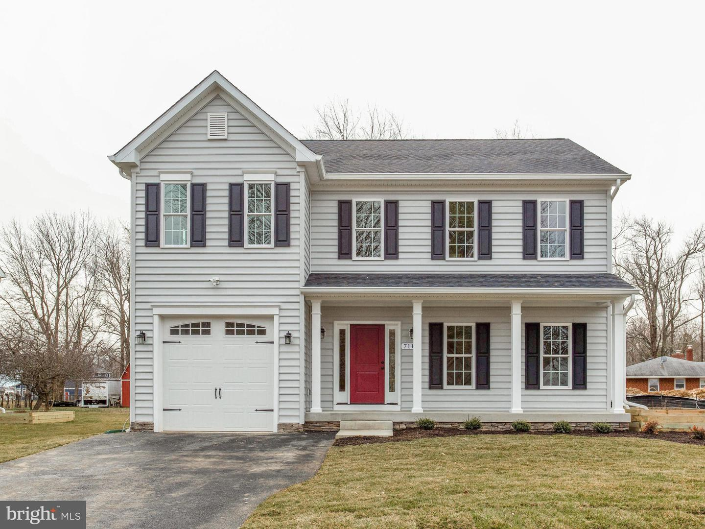 Single Family Homes por un Venta en 711 OAR Lane Deale, Maryland 20751 Estados Unidos