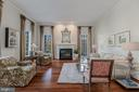 Formal Living Room with Gas Fireplace - 8429 BROOK RD, MCLEAN