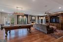 Entertainment Center and Stone Fireplace - 8429 BROOK RD, MCLEAN