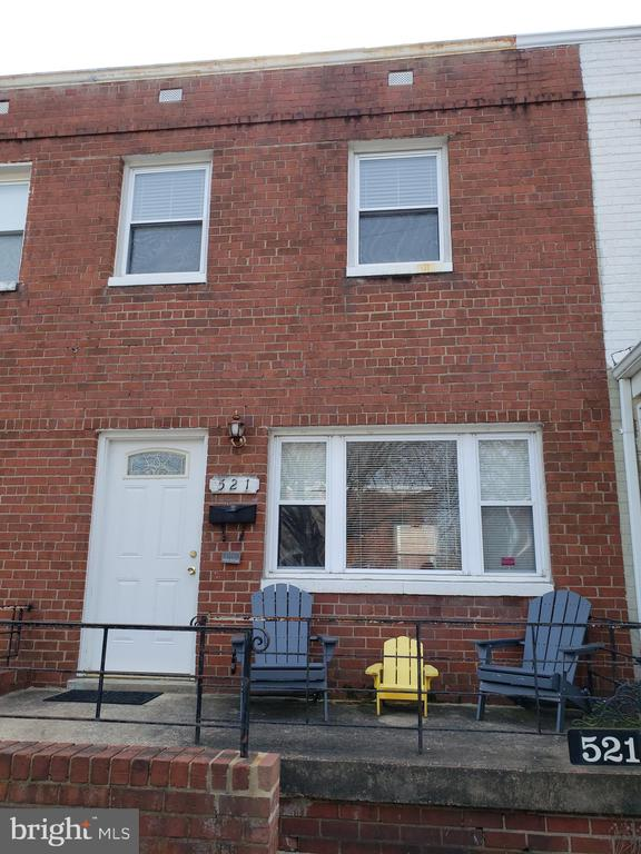 FRONT VIEW OF HOME - 521 E BELLEFONTE AVE, ALEXANDRIA
