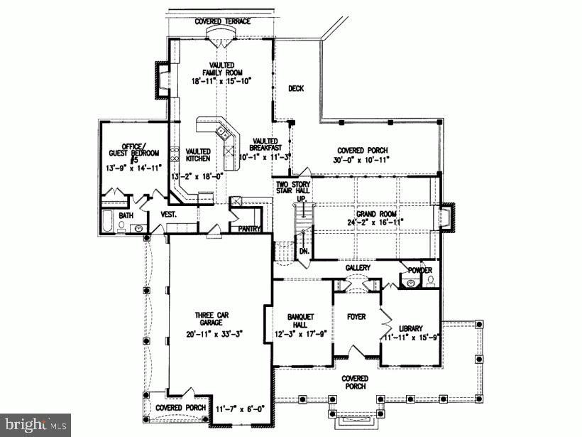 Floor Plan  main level - 1029 PARK ST SE, VIENNA