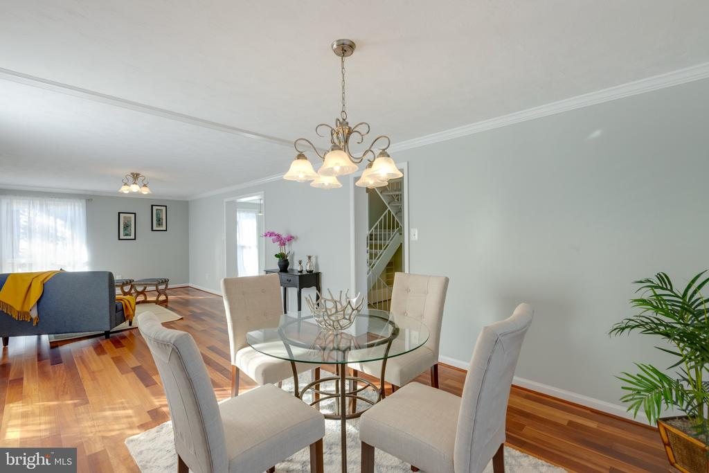 Spacious Living and Dining Room Combo - 4467 ELAN CT, ANNANDALE