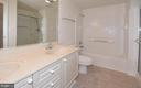 Separate tub and shower - 19375 CYPRESS RIDGE TER #107, LEESBURG