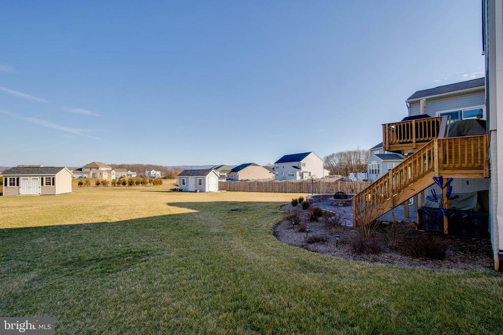 View of Backyard and Shed - 754 MCGUIRE CIR, BERRYVILLE