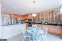 Gourmet Kitchen w/Breakfast Room - 4000 BELVEDERE LN, FREDERICK