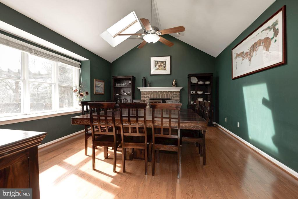 Family Room being used as Dining Room - 1340 DASHER LN, RESTON