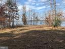 View of waterfront/sports court from house - 11713 WAYNE LN, BUMPASS