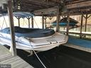 Main Boathouse: Deck Boat negotiable. - 11713 WAYNE LN, BUMPASS
