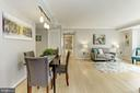Open Floor plan - 1275 25TH ST NW #808, WASHINGTON