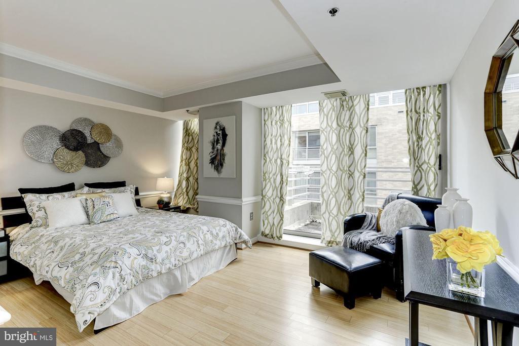 Master bedroom - 1275 25TH ST NW #808, WASHINGTON