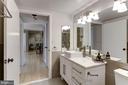 Modern, updated Bathroom - 1275 25TH ST NW #808, WASHINGTON