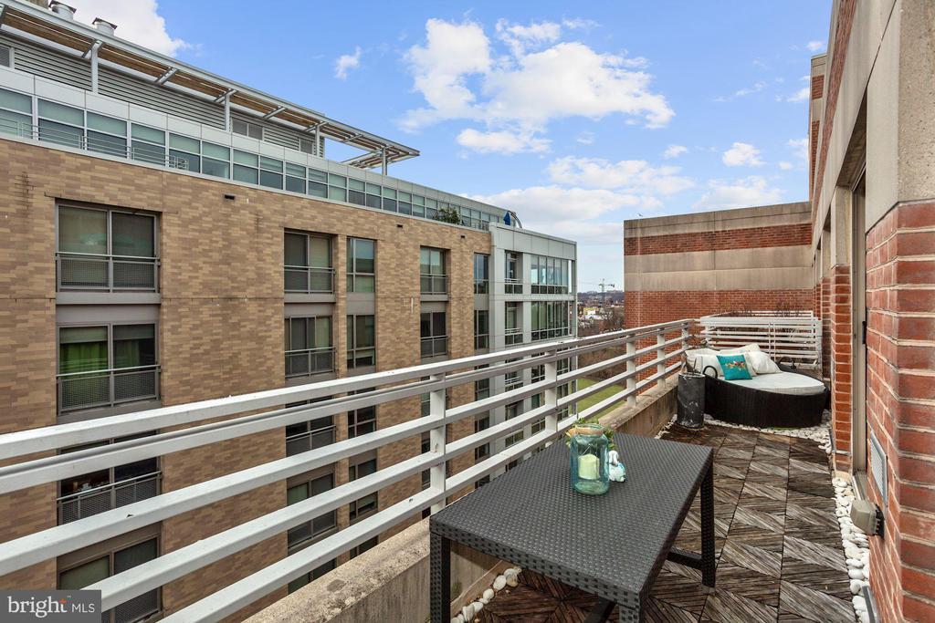 Balcony - 1275 25TH ST NW #808, WASHINGTON