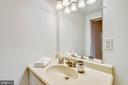 Lovely vanity with storage space. - 4141 N HENDERSON RD #1011, ARLINGTON