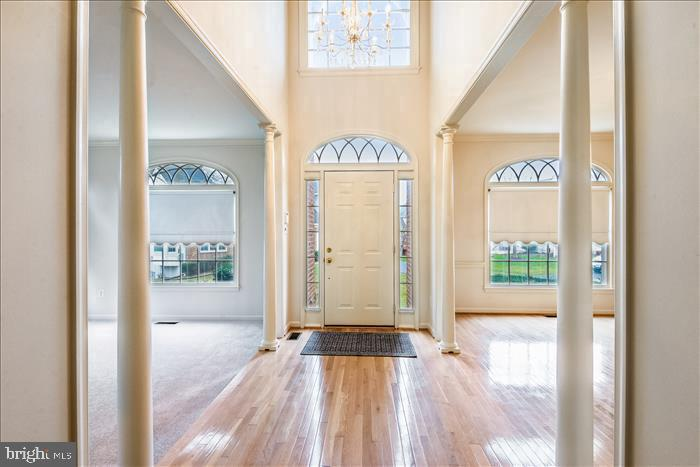 Two Story Foyer - 13906 LEETON CIR, CHANTILLY