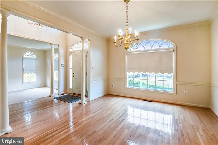 Formal Dining Room - 13906 LEETON CIR, CHANTILLY