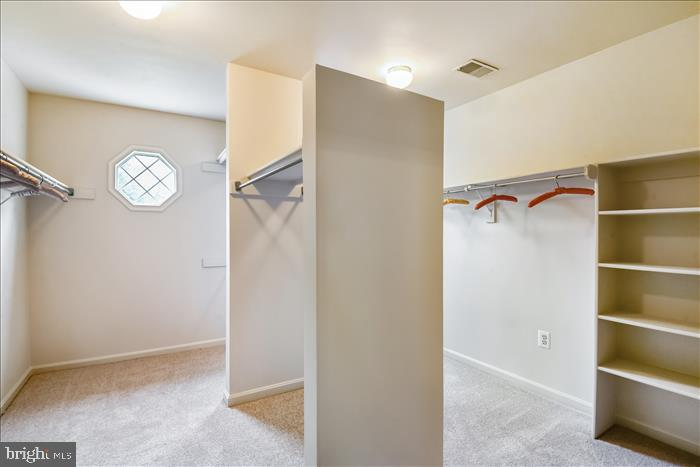 Impressive Master Bedroom Closet! - 13906 LEETON CIR, CHANTILLY