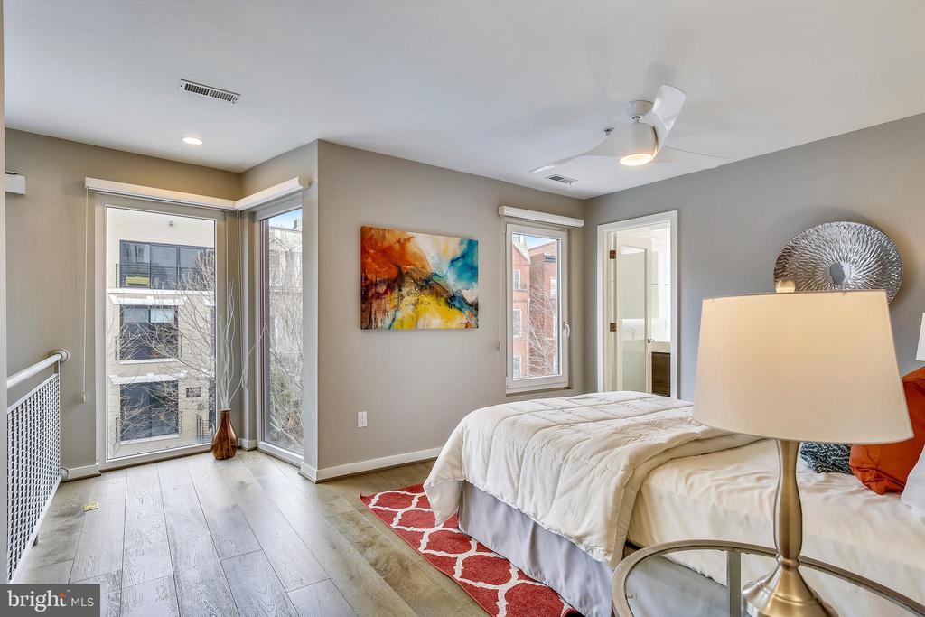 Master bedroom - 1466 HARVARD ST NW #A-1, WASHINGTON