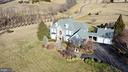 Aerial front elevation - 16080 GOLD CUP LN, PAEONIAN SPRINGS