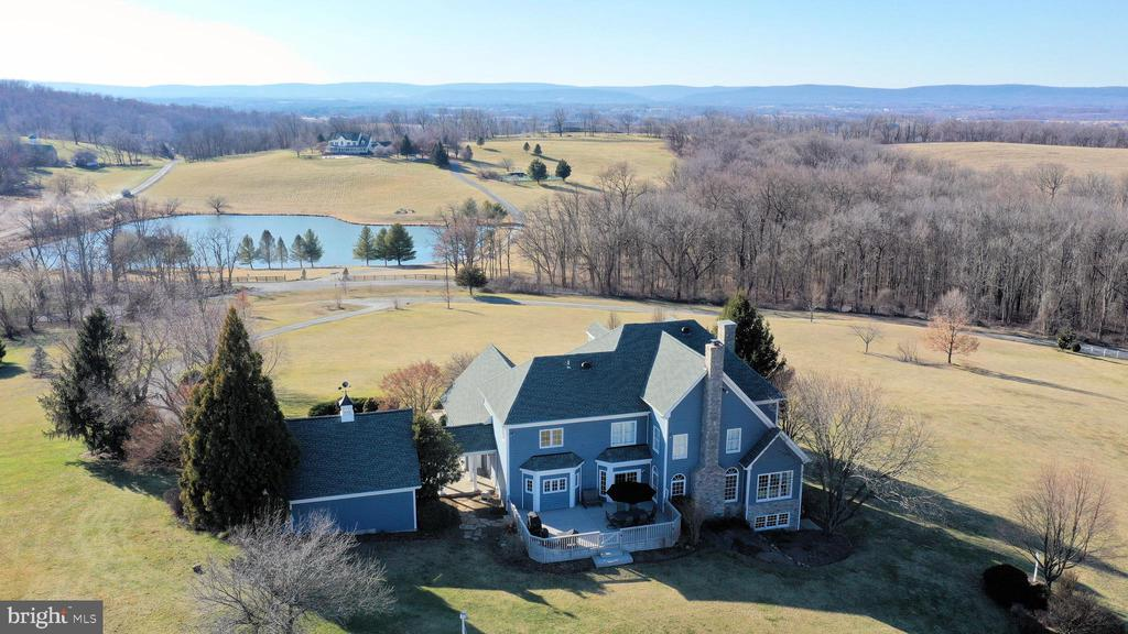 Incredible sunsets and sunrises! - 16080 GOLD CUP LN, PAEONIAN SPRINGS