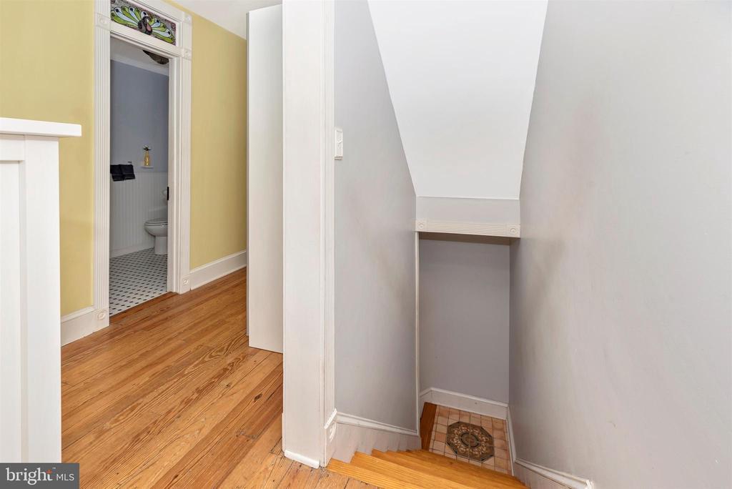 Stairs to 2nd Floor - 10 N WISNER ST, FREDERICK