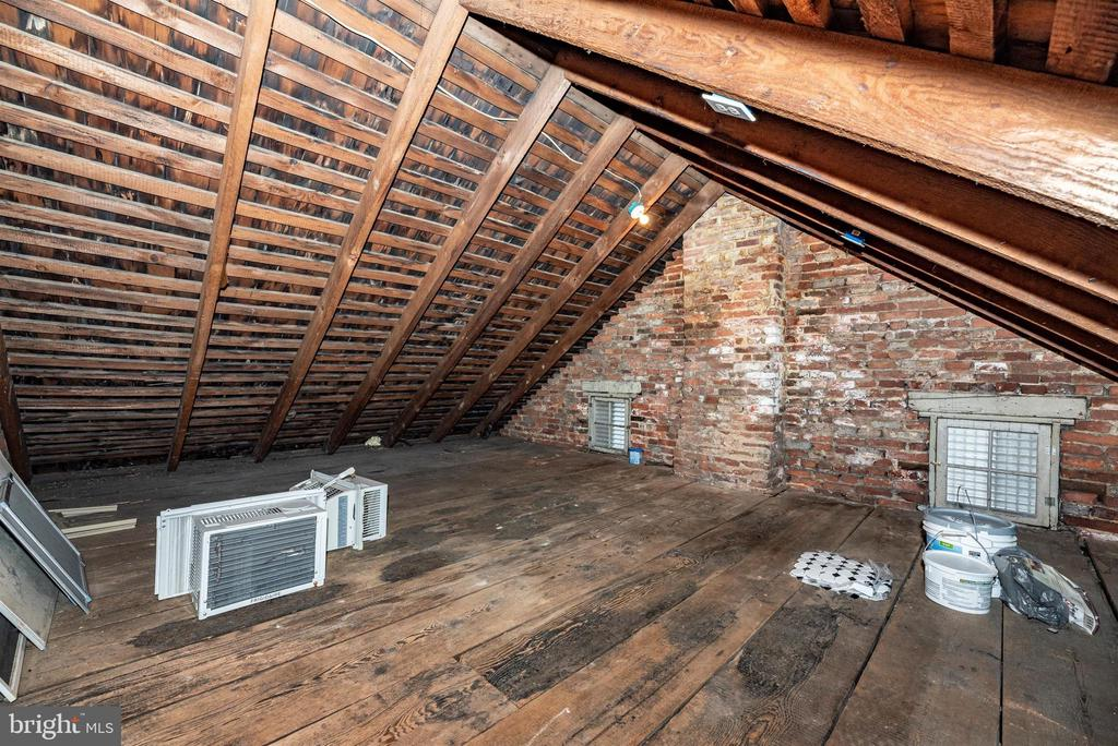 Attic...Could be??? - 10 N WISNER ST, FREDERICK