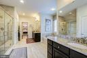 Beautifully appoint MBR w/2 dressing  rooms! - 2327 DALE DR, FALLS CHURCH
