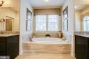Take some time to really relax in the spa tub! - 2327 DALE DR, FALLS CHURCH