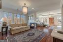 Master Sitting Rom with Wet Bar & Fireplace - 8429 BROOK RD, MCLEAN
