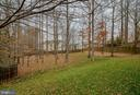 WOODED VIEW FROM BACK - 5014 QUELL CT, WOODBRIDGE