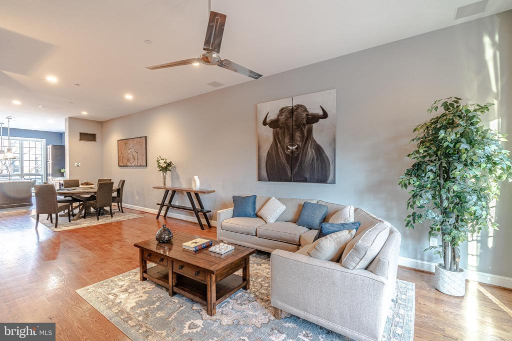 High Ceilings & Open Living Areas - 1739 ALICEANNA ST, BALTIMORE