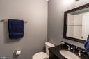 Fourth level Full Bath - 1739 ALICEANNA ST, BALTIMORE
