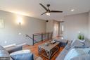 Light-filled Fourth Level Family Room - 1739 ALICEANNA ST, BALTIMORE