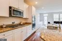 GOURMET KITCHEN W/ GAS COOKTOP AND DOUBLE OVEN - 6963 COUNTRY CLUB TER, NEW MARKET