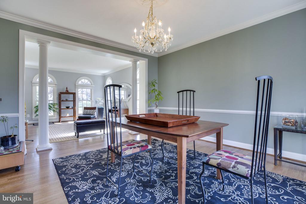Formal Dining Room - 12110 WALNUT BRANCH RD, RESTON