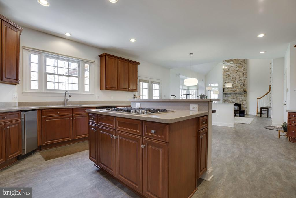HUGE, Open Gourmet Kitchen - 12110 WALNUT BRANCH RD, RESTON