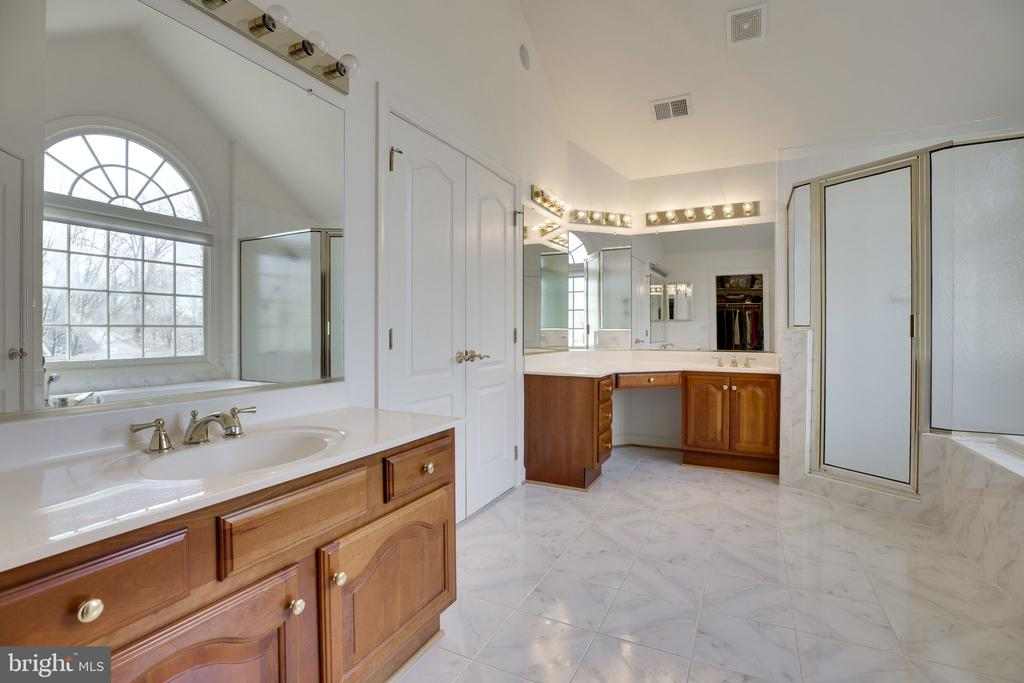 Separate Vanities - 12110 WALNUT BRANCH RD, RESTON
