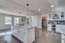 Lovely Large Kitchen Island!!! - 6349 LOUISIANNA RD, LOCUST GROVE
