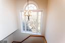 Staircase to upper level/bedrooms - 1911 LOGAN MANOR DR, RESTON