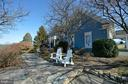 Flag stone walkway to front patio - 16080 GOLD CUP LN, PAEONIAN SPRINGS