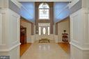 Foyer view to front door - 16080 GOLD CUP LN, PAEONIAN SPRINGS