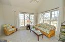 Light filled sun room - 16080 GOLD CUP LN, PAEONIAN SPRINGS